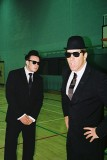 ...Boris and Will as the Blues Brothers